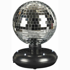 More details for battery operated led dance disco lamp party dj ball rotating mirrored light