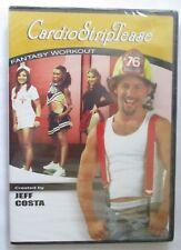 CARDIO STRIPTEASE FANTASY WORKOUT JEFF COSTA DVD - BRAND NEW