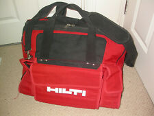 HILTI DUFFLE BAG LARGE   HEAVY DUTY CONTRACTOR SITE WORK GEAR TOOLS STORAGE DIY