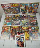 Cable #45-61 1997-1998 Marvel Comics Lot of 17 Comics