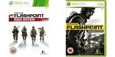 operation flashpoint dragon rising & red river    Xbox 360  PAL