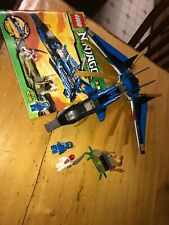 Lego Ninjago 9442 Jay's Storm Fighter - 2012 - Missing 1 Helmet W Manual