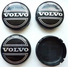 4x 64mm VOLVO ALLOY WHEEL CENTRE HUB CAPS C30 C70 S40 V50 S60 V60 V70 S80 XC90