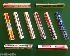 BIADESIVO stile Vintage Tavole di pubblicità per Subbuteo