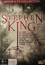 Stephen King Movie and TV Collection- 10 Discs Region 4 () Real