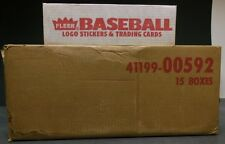 1989 Fleer Baseball Factory Set Case (15 Sets) Griffey Jr Craig Biggio RC PSA