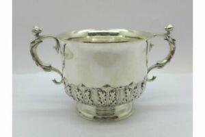 Lovely Solid Silver Porringer London 1902