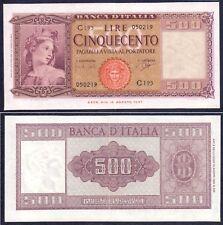 500 lire Italia ornata di spighe 1961 – RaRa SUP+