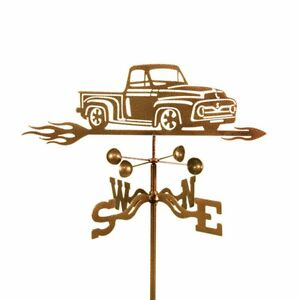 Pickup Truck Weathervane Weather Vane Ford Complete with Choice of Mount