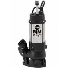 "BJM Electric Vortex Submersible Trash Pump BJM Industrial 2"""
