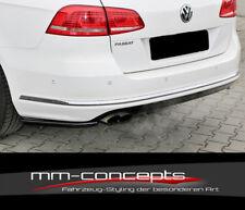 CUP Diffusor Seiten Ansatz Set für VW Passat B7 3C R-Line Variant Heck Flap