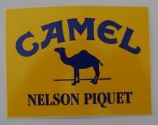 Aufkleber CAMEL F1 Nelson Piquet Lotus Honda Formula one 80er Sticker