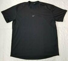Nike Court dri-fit shirt men sz Xl Tennis black/white