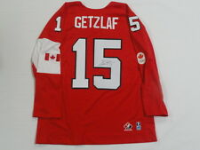 RYAN GETZLAF SIGNED 2014 TEAM CANADA OLYMPIC JERSEY LICENSED GOLD MEDAL JSA COA