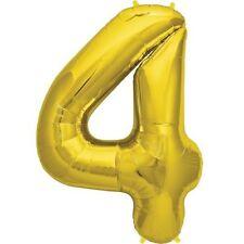 Globos de fiesta aniversario de color principal oro