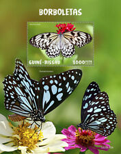 Guinea-Bissau Butterflies Stamps 2020 MNH Large Tree Nymph Butterfly 1v S/S
