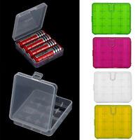 Hard Portable Plastic Storage Box Case Holder For 4 x 18650 Battery