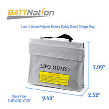 Lipo Battery Safe Bag Guard Fireproof Explosion proof Sack For Charge &Storage