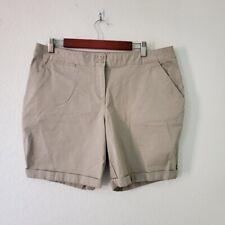 Tommy Bahama Women's Bermuda Short Tan Size 14