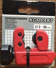 PROJAHN COMPACT PIPE CUTTER 3-30mm HEAVY DUTY STEEL (MADE GERMANY) PLUMBERS TOOL