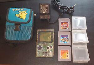 Nintendo Game Boy Pocket - Clear (bundle)