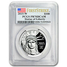 2015-W 1 oz Prf Platinum American Eagle PR-70 PCGS (First Strike) - SKU #93892