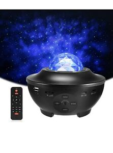 Star Night Light Laser Projector Starry Galaxy Ocean Sky Party Speaker LED Lamp