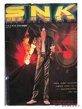SNK ILLUSTRATIONS Japan Book Neo Geo Game Art magazine KOF SI Rare Samurai