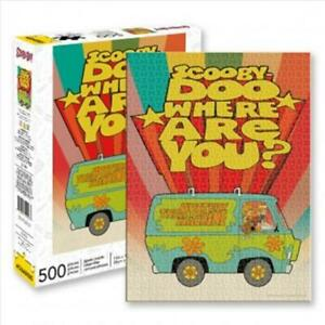 Where Are You - Scooby Doo 500 Piece Puzzle