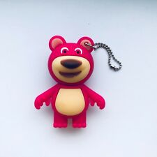 1 New Cute Pink Bear Character, 128MB USB Flash Drive Memory Stick