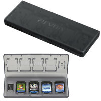 2 X Official Sony PSVita Case Game Card Holder 10 in 1 Memory & Game Card Case