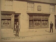 Antique The Swan Inn Swan Hotel Great Wyrley Walsall UK Cabinet Card Photo