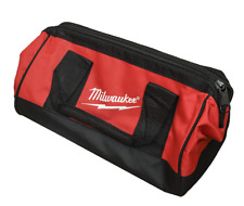 Milwaukee Tool Bag13x6x8 inch Heavy Duty Canvas Tool Bag Drill Bag