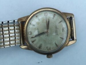a gents stainless steel cased accurist manual wind 21 jewel watch