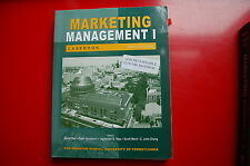 2007 Wharton Business School MBA text book Marketing managment case study guide