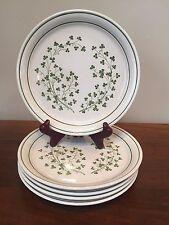 Arklow Ireland HoneyStone LIMERICK Salad Plates ~ Set of 5