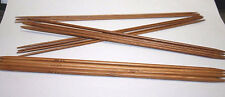 1 Set of 4 Double Pointed 25 cm Bamboo Knitting Needles Circular Seamless 2-5 mm