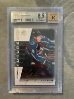 2019-20 SP Authentic BLACK FWA GOLD ink #149  Cale Makar Rookie BGS 8,5 RARE