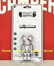 Medicom Be@rbrick 2017 Action City 100% Robot Hello Kitty White ver. Bearbrick