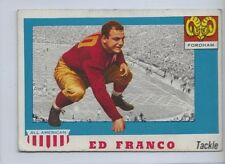 1955 TOPPS ALL AMERICAN # 58 ED FRANCO NICE CARD