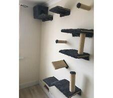Furry Cat wall shelves set of 11 (S1)