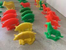 Vintage Toys 1980's Plastic Farm Animals 26 Pieces