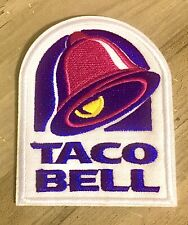 "TACO BELL Patch Embroidered NEW Fast Food Drive Thru Mexico 3"" Iron On 🌮 🌯"