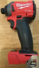 NEW- Milwaukee 2853-20 M18 FUEL 18-Volt 1/4 in. Hex Impact Driver - TOOL ONLY