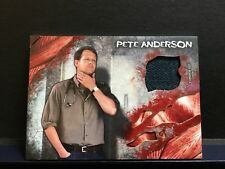 The Walking Dead Survival Box Pete Anderson Corey Brill Authentic Jacket Relic
