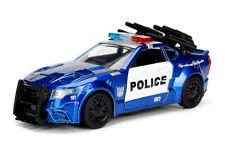 JADA 1:32 Transformers 5 Barricade Diecast GT350R Ford Mustang Model Car New