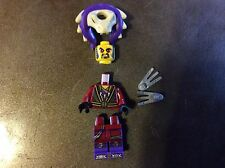 New Lego Ninjago Chen Minifigure with Claw Weapon from set 70746 Unassembled