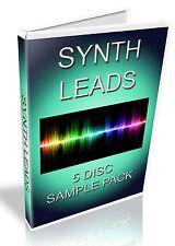 LEADS SAMPLE PACK  -- WAV FILES / SAMPLES -- FL STUDIO - FRUITY LOOPS - CUBASE