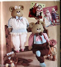 "Teddy Bear pattern 24"" bunny Santa Claus clothes"