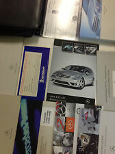2008 MERCEDES BENZ R CLASS R350 R500 Owners Manual SET KIT W CASE & 1ST AID KIT